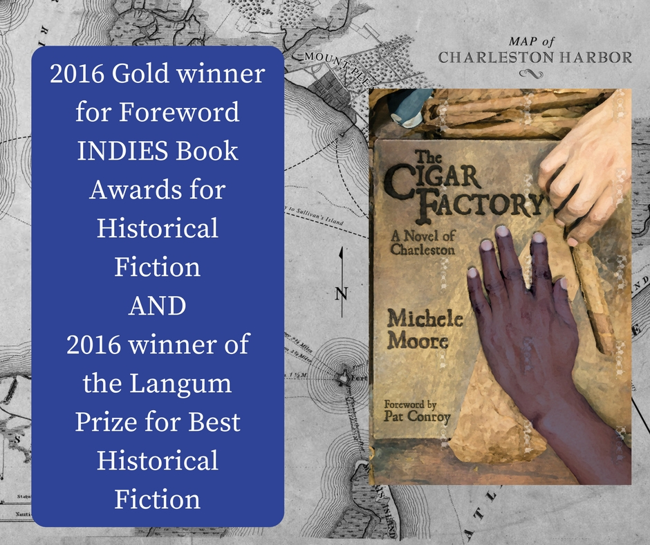 The Cigar Factory is the 2016 Gold winner for Foreword INDIES Book Awards for Historical Fiction